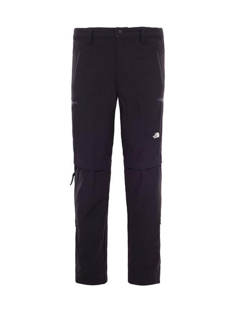 The North Face Exploration Convertible Pants Men Short TNF Black